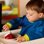 Der ist vor allem für Liam ein Highlight, der voll auf Erdbeeren abfährt (ganz der Papa ;)).