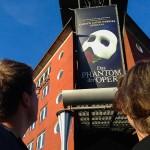 Highlight am Abend: Wir besuchen das Phantom der Oper!