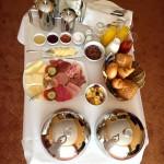 Reichhaltiges Frühstück :)
