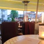 Am letzten Abend essen wir auswärts.