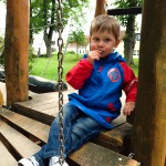 Noah in seiner neuen Jacke. Gewonnen bei www.frau-mutter.com
