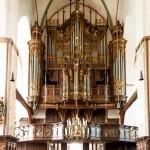 Eine von zwei Orgeln in der St. Jakobi