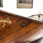 Die Jakobikirche beherbergt ein Beiboot der verunglückten Pamir und Urnengräber für Seefahrer.