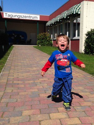 Liam hat Spaß. :)