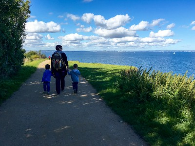Kleiner Spaziergang entlang der Steilküste