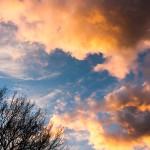 Abends präsentiert uns der Himmel ein tolles Schauspiel.
