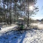Wieder gab es Schnee! Diesmal sogar ein wenig mehr.