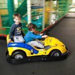 Auch Liam ist schon Profi-Rennfahrer