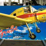 Ausflug ins Wernigeroder Luftfahrtmuseum.
