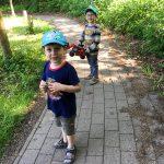 Heimweg vom Kindergarten