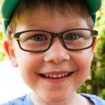Aufgeregter Fünfjähriger