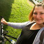 Zuhause gönnt sich Steffi am nächsten Tag eine ausgiebige Radt