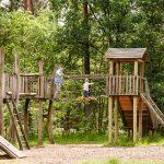 Ziel: Ein kleiner Abenteuerspielplatz in der Nähe.