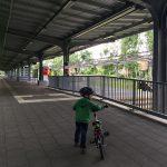 Vom Travemünder Bahnhof geht es per Zug nach hause.